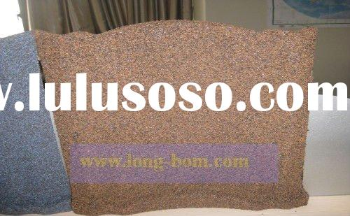 colorful stone chip coated Al-Zinc steel roof tile