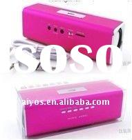mini speaker with FM radio and TF SD USB reader