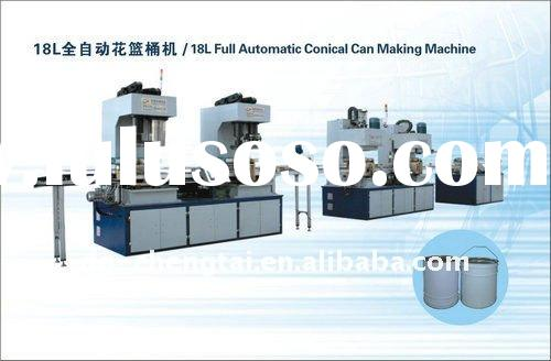 15-20L Full Automatic Conical Can Making Machine