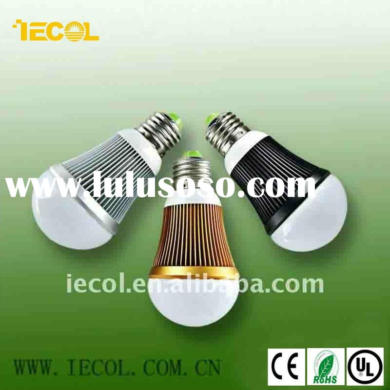 5W e27 led bulb light with CE RoHS certification