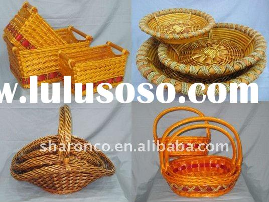 Wicker basket for food storage at best price,fashionable design.