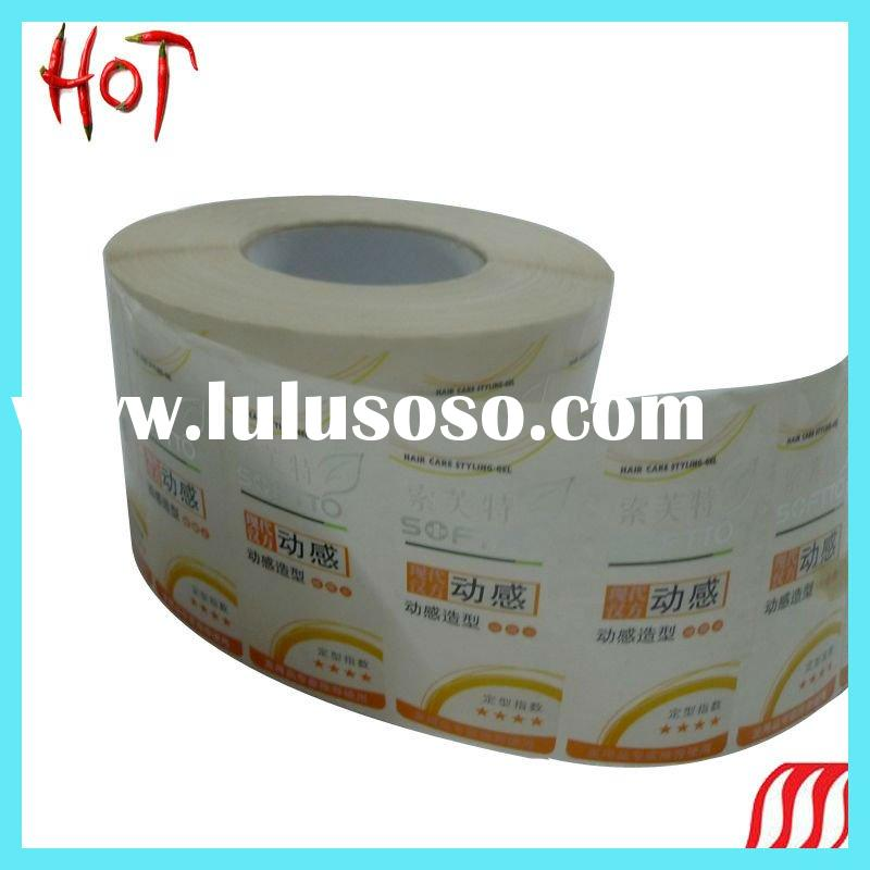 high quality transparent adhesive label sticker