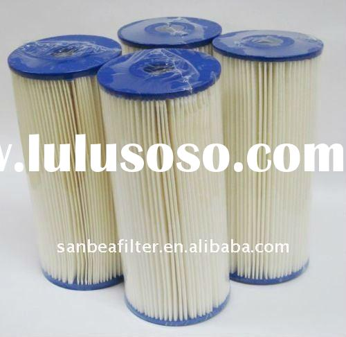"10""x4.5"" Big Blue Pleated Home Sediment Water Filters 5 Micron"