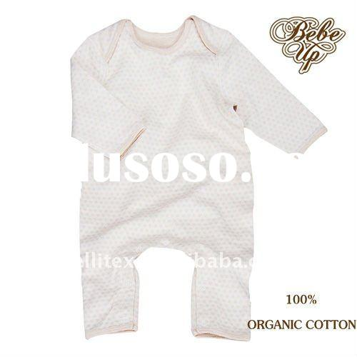 Simple Design 100% Organic Cotton Baby Romper Baby Clothes Children Clothing Kids Clothes