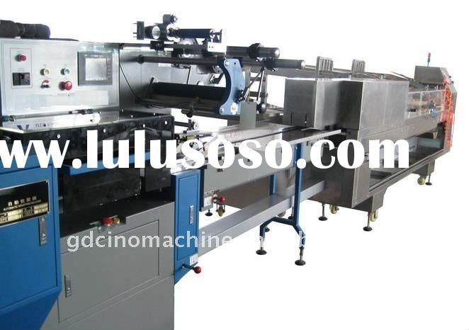 chocolate biscuits sandwich machine and packaging machine