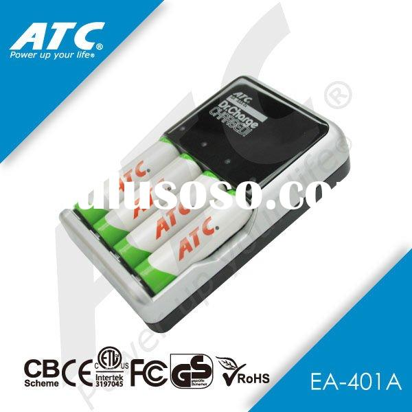 4pcs AA/AAA rapid battery charger