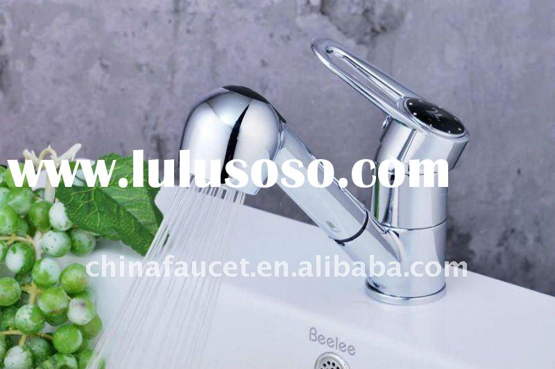 NEW Style Pull-out Spray Kitchen Sink Mixer/Kitchen Sink Faucet/Sink Mixer Tap QH0744-6