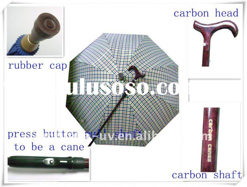 carbon cane umbrella walking cane umbrella carbon stick umbrella asjustable umbrella
