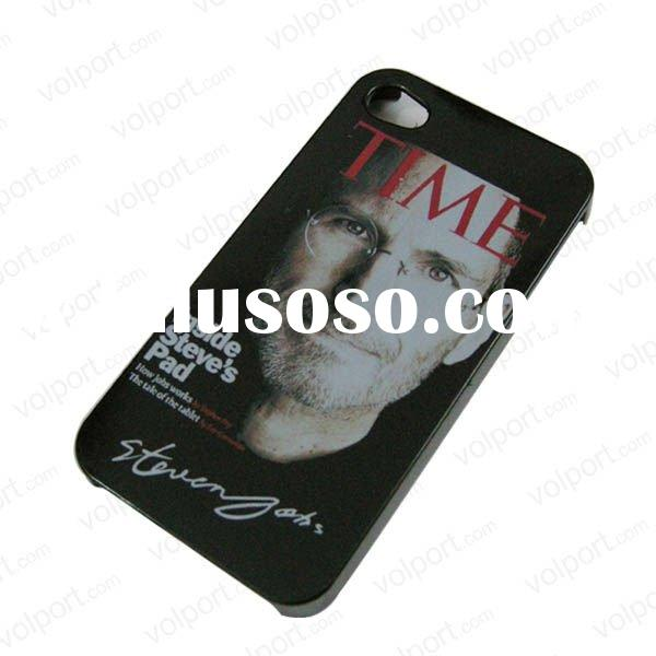 steve jobs memorial for iphone4 new design case