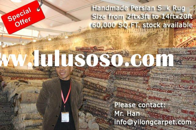 Handmade Rugs, Persian Hand Knotted Rug, Oriental & Wool Area Carpets