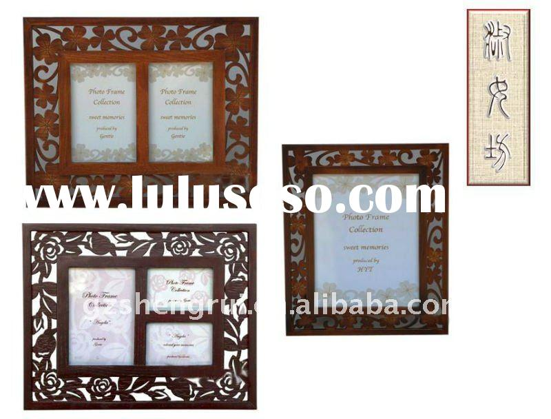 2011 new wood carved Photo Frame