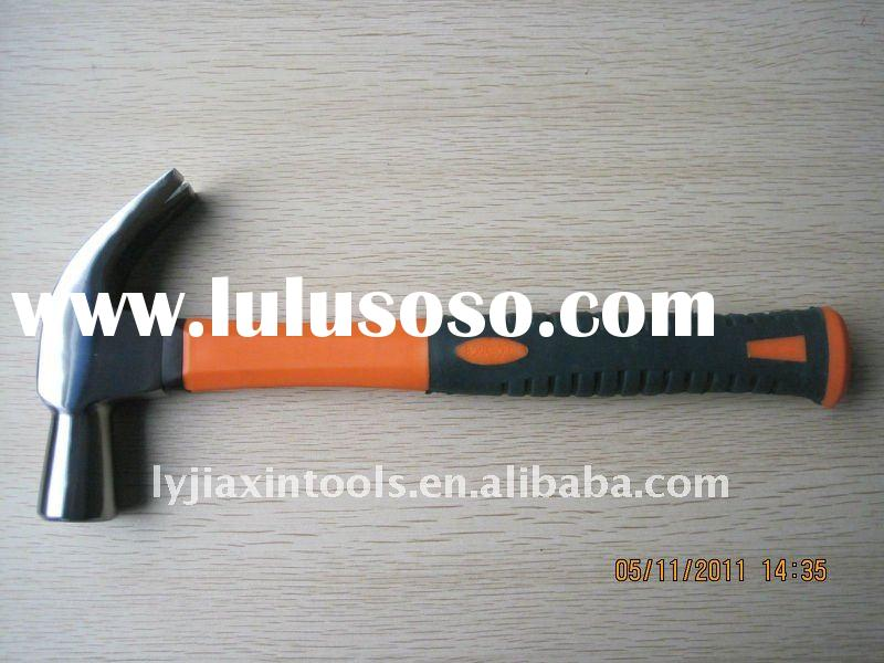 British type claw hammer with TPR handle