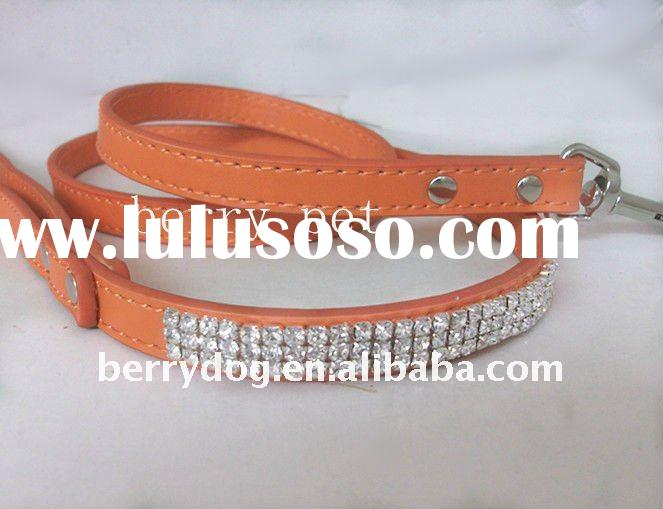 luxury leather dog leashes mix colour from stock matching collar