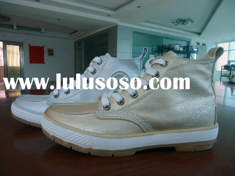 2012 new high top canvas shoes