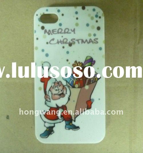 Happy Christmas Santa Claus silicone mobile phone case