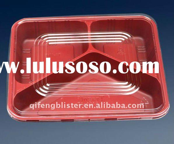 Microwave lunch box,plastic lunch box ,disposable lunch box ,food packaging box