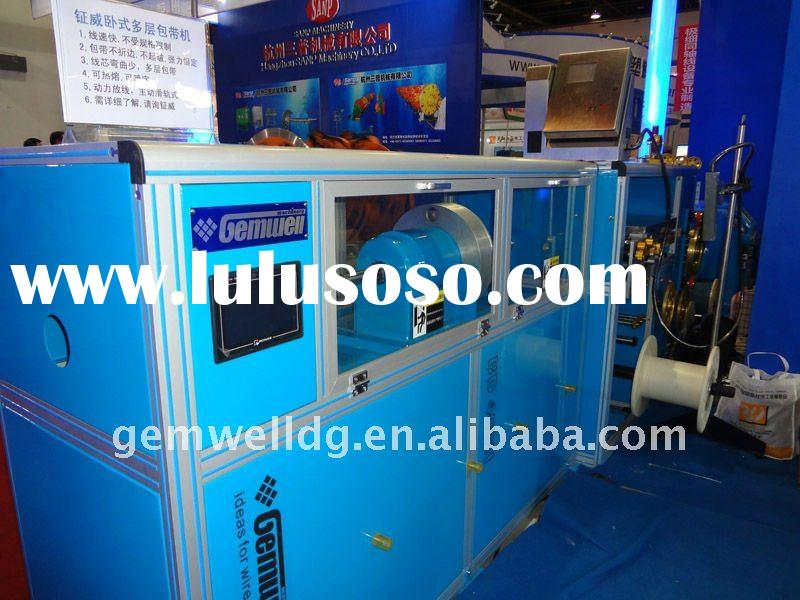 automatic wrapping machine horizontal double layer taping machine