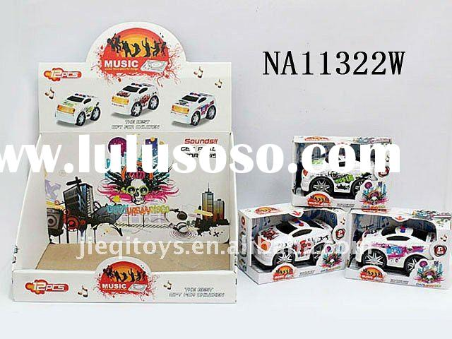 B/O program car with light and music toy car