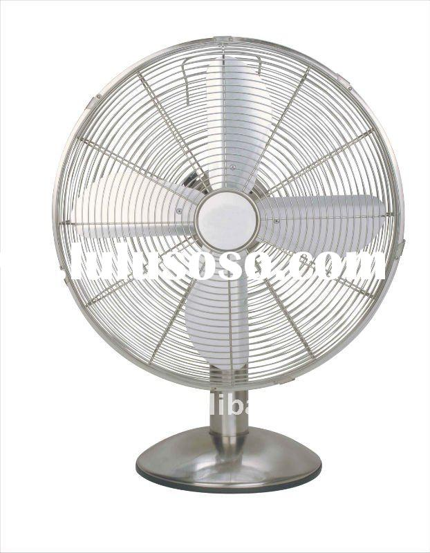 12 inches electric metal desk fan