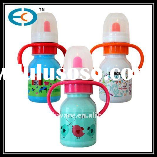 304 new design stainless steel baby feeding bottle