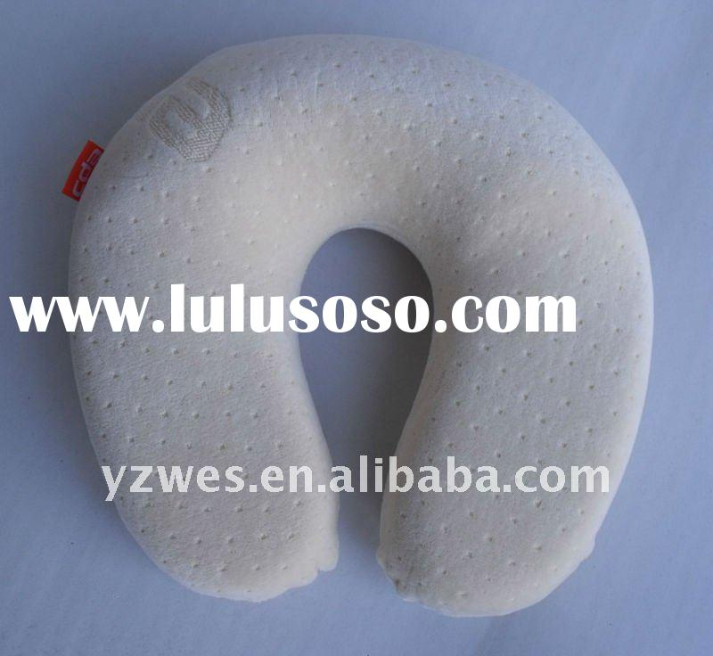 Inflatable PVC pillow airline inflatable pillow memory pillow