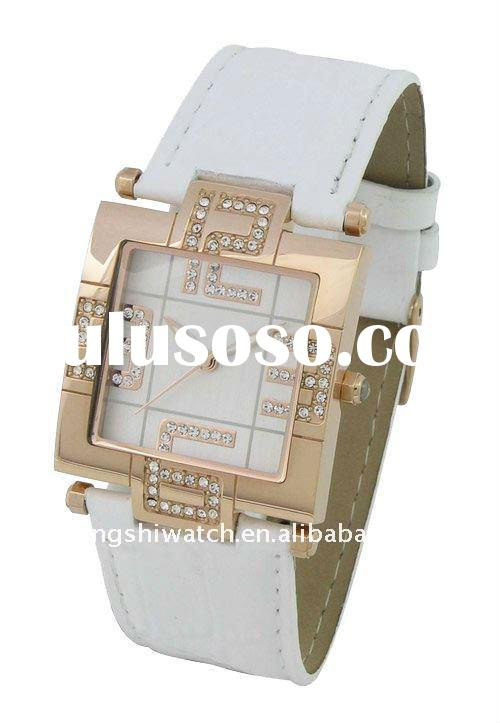 JS225 2012 Fashion Real Leather Watches Top Brand