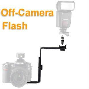 Off-Camera Flash Bracket Holder Arm