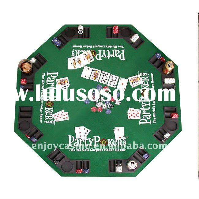 Party Poker Folding Poker Table Top