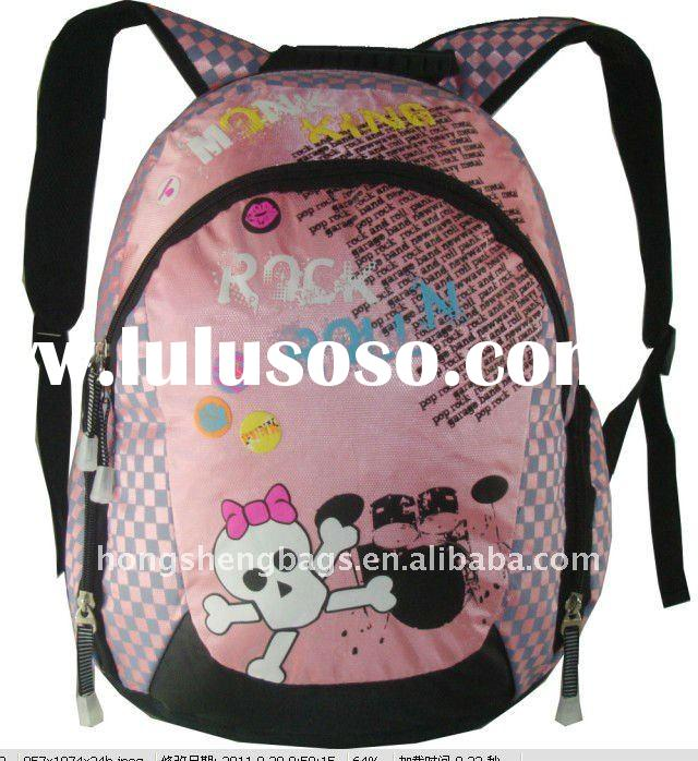 Hot sell fashion anime school bags and backpacks at low price