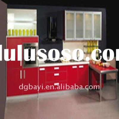 high gloss uv board  MDF for kitchen cabinet door red color