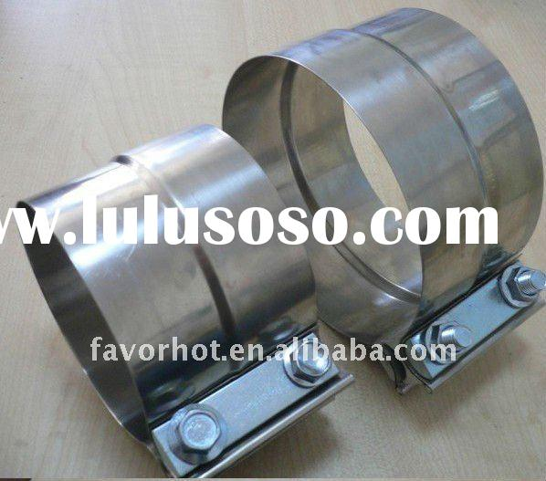 stainless steel exhaust band clamps
