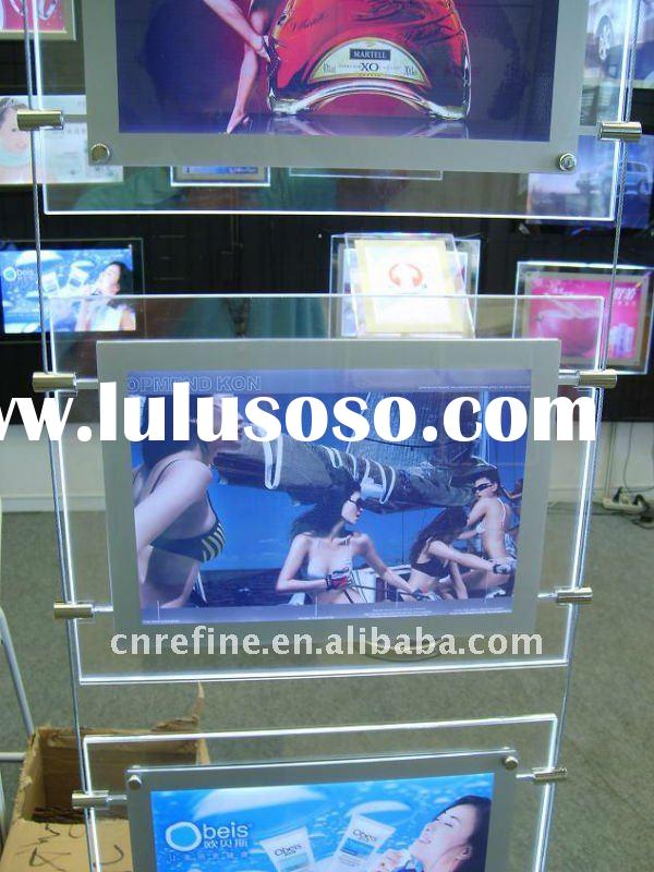double side crystal light box