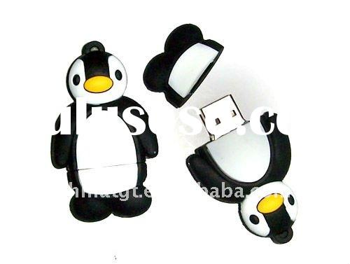 promo penguin usb flash drive as gift