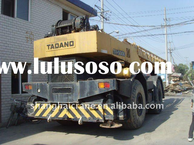 used mobile crane TADANO TR500M 50TON ROUGH TERRAIN CRANE in good working condition