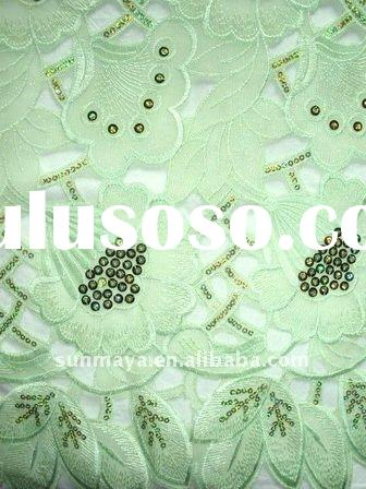 Hand cut Voile Lace