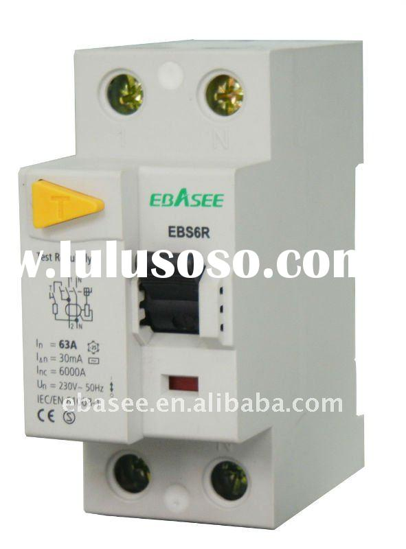RCCB Residual current circuit breaker