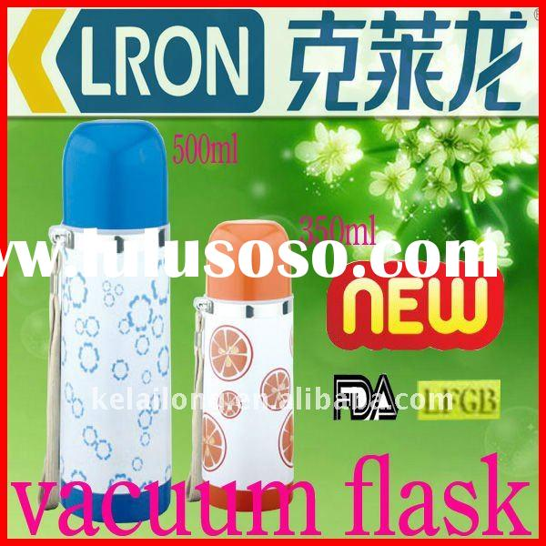 colourful stainless steel vacuum thermos flask