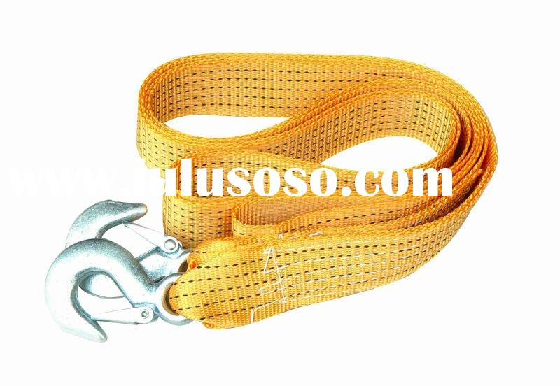 tow rope (type:strap ,not steel,not elastic ,not twist,not braid )