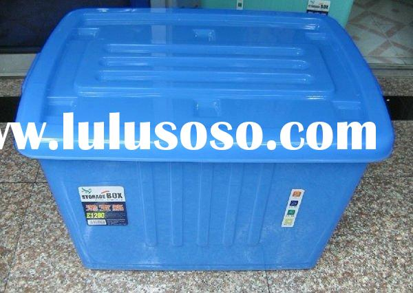 portable plastic storage container used in home,office