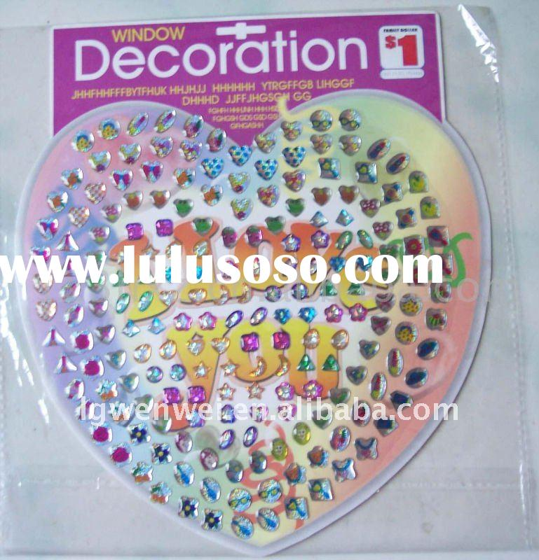 Epoxy resin dome sticker for ear