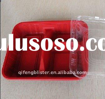 Disposable lunch box,plastic lunch box,lunch box keep food hot with compartment