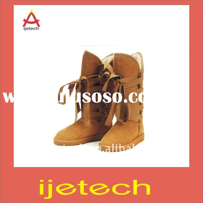 Fashion women's snow boots winter fur boot
