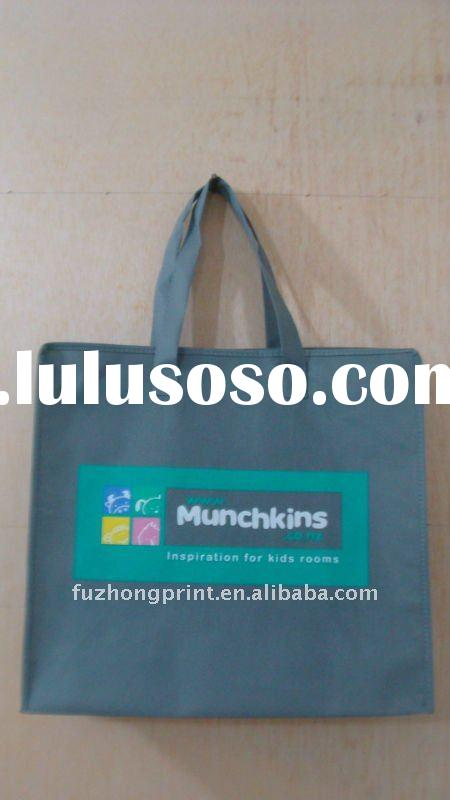 eco recycle 80G Non woven bag shopping bag with 6C printing