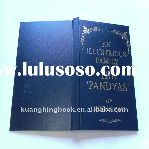 Gilded Cover PU Leather Notebook