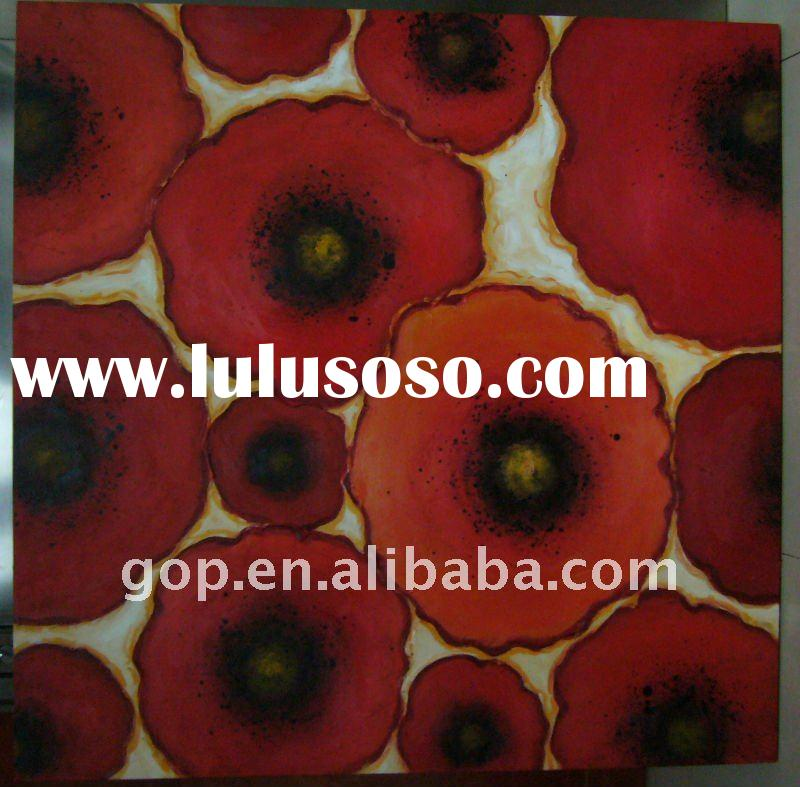 Handmade modern canvas Painting with heavy paint