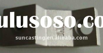 Stainless steel window glass holder investment casting