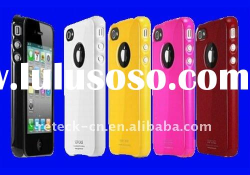UV piano lacquer mobile phone cover for iphone 4