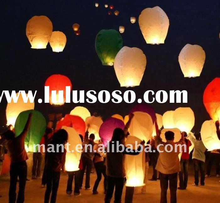 romantic wedding gift sky lantern