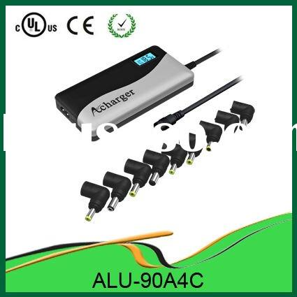 Only 19mm!!! Very Portable Slim Design 90W Laptop Adapter