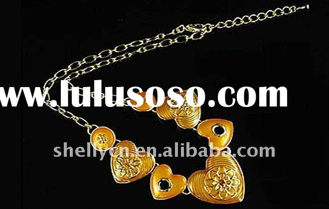 2012 hotsell fashion jewelry and pendant alloy necklace